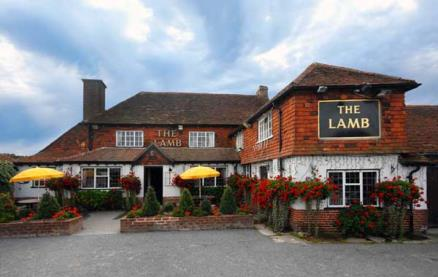 The Lamb Inn (Pagham) -Outside