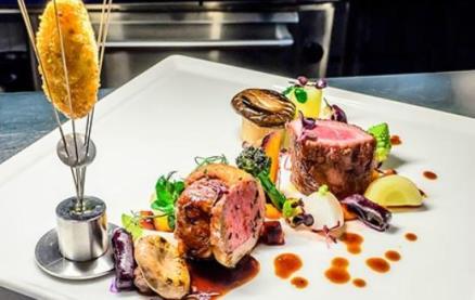 Saffrons restaurant saint helier jersey for Atlantique seafood bar jersey