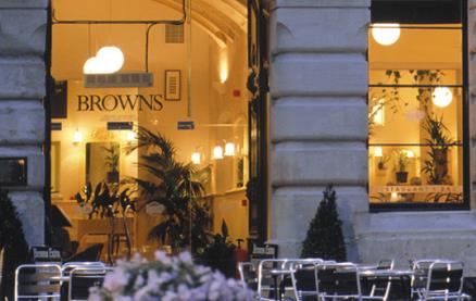 Browns (Bath)-Exterior